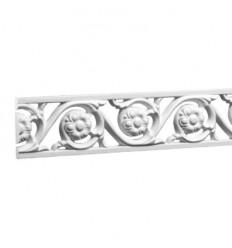 Ornament Gaudi alb pentru perete 1.51.369