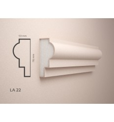 Profile polistiren exterior acoperite cu Rasina - LA22