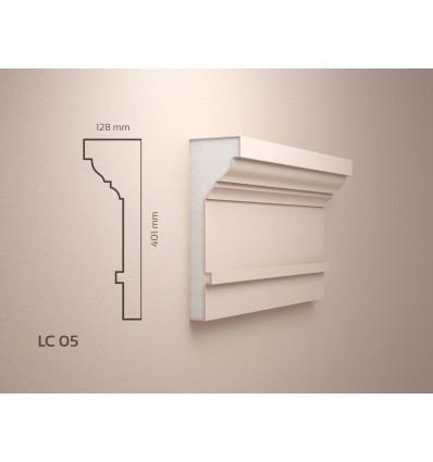 Profile polistiren exterior acoperite cu Rasina LC05 LC 05