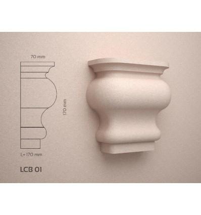 Decoratiuni polistiren exterior de tip Cheie de Bolta LCB01